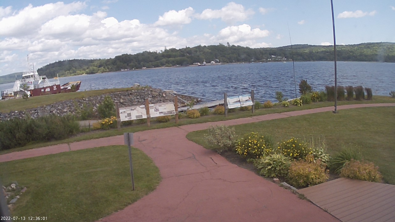 Web Cam image of Grand Bay-Westfield (Brundage Point River Centre)
